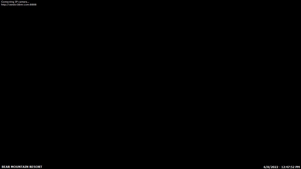Bear Mountain Cam 3 is off the air right now. Sorry